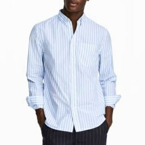B2G1 Men's VTG Calvin Klein Pinstripe Button Down